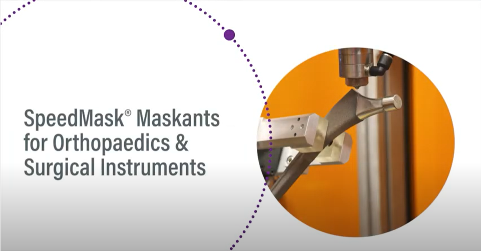 Dymax Light Curable SpeedMask® Maskants for Orthopaedics & Surgical Instruments