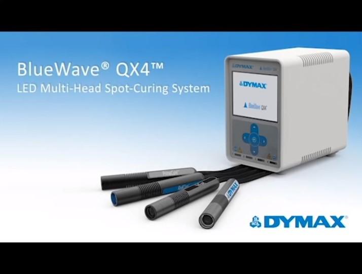 BlueWave QX4 LED Multi-Head Spot Light-Curing System