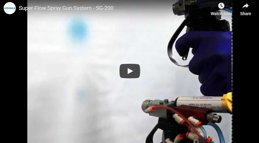 SG-200 Super-Flow Handheld Spray Dispensing Systems