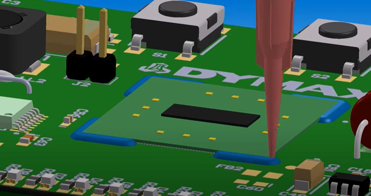 Dymax Adhesives for BGA & VGA Ruggedization