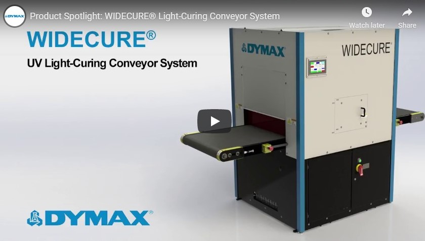 WIDECURE® Light-Curing Conveyor System