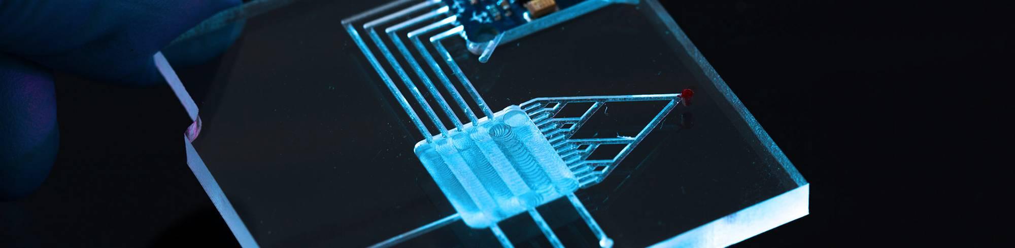 medical adhesives used for In-vitro diagnostics
