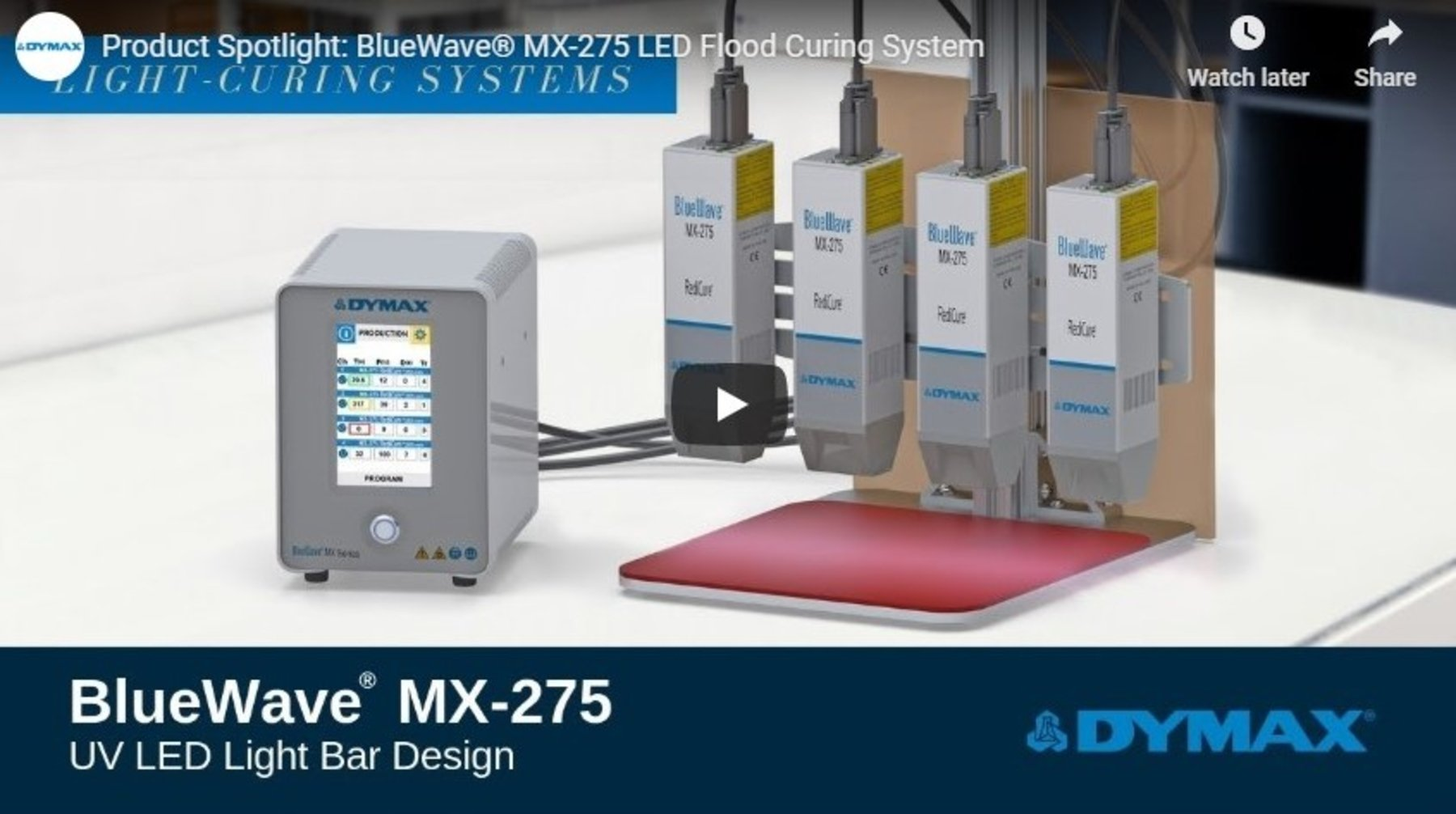 BlueWave® MX-275 LED Flood Curing System