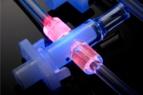 Tecnología fluorescente del adhesivo para dispositivos médicos 1209-M-UR-SC MD