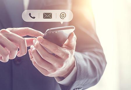 Kontaktieren Sie Dymax per Telefon, E-Mail, Chat oder über soziale Medien